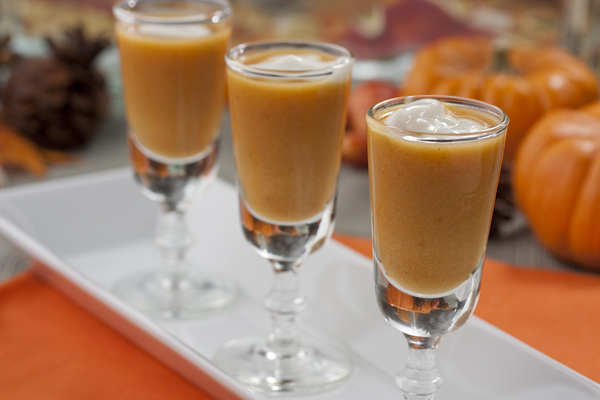 Pumpkin Bisque Shooters