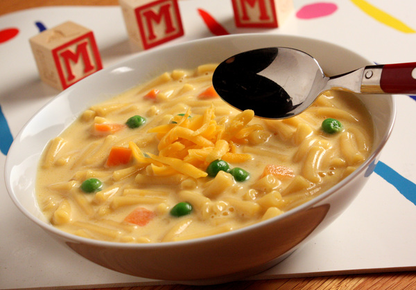 Macaroni and Cheese Soup | MrFood.com