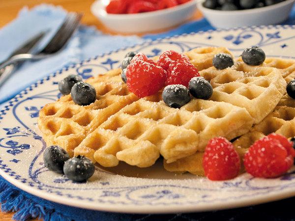 Buttermilk Waffles   mrfood.com