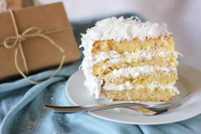 Fluffy Coconut Cake
