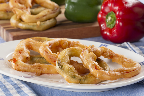 French Fried Pepper Rings