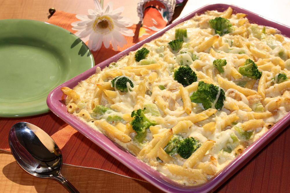 Chicken Pasta Bake Easy Casserole