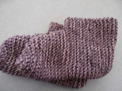 Adult Knit Booties
