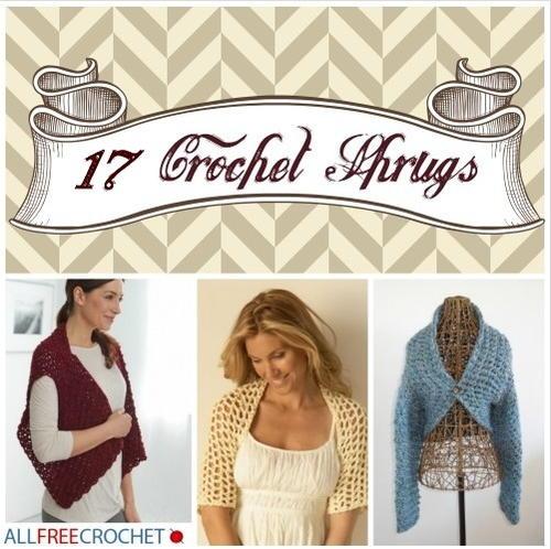 Free Crochet Shrugs
