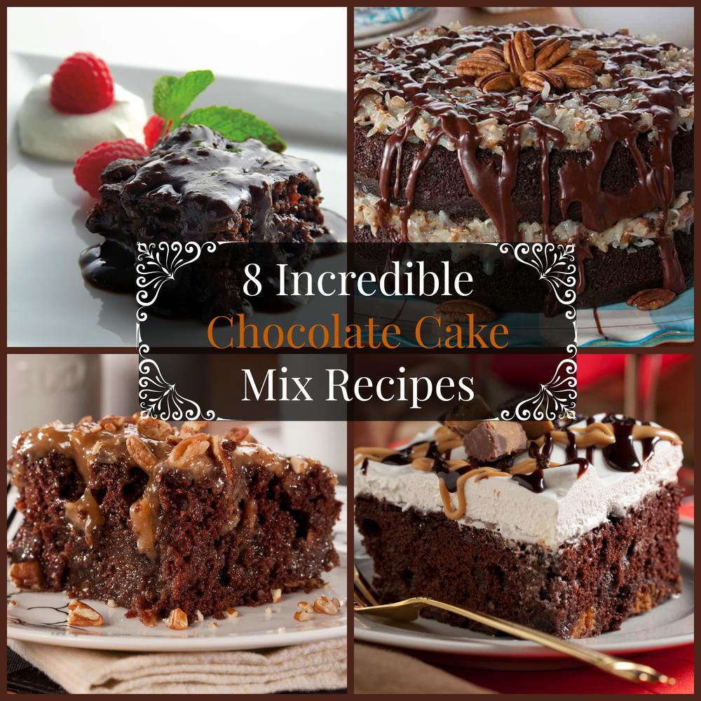 8 Incredible Chocolate Cake Mix Recipes MrFoodcom