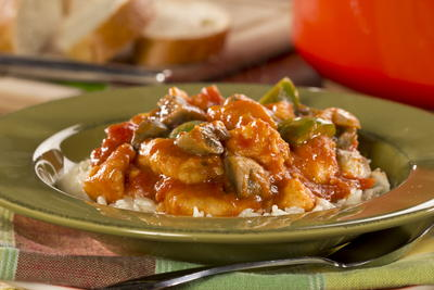 Chicken Cacciatore One Pot