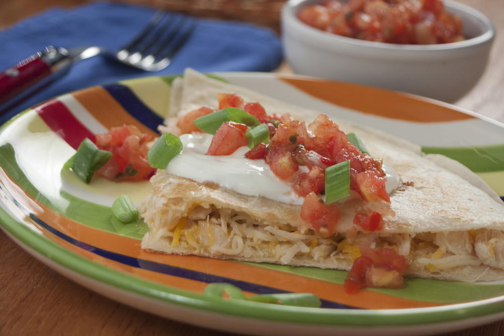 Easy mexican recipes top 10 quesadillas mrfood chicken quesadillas forumfinder Gallery