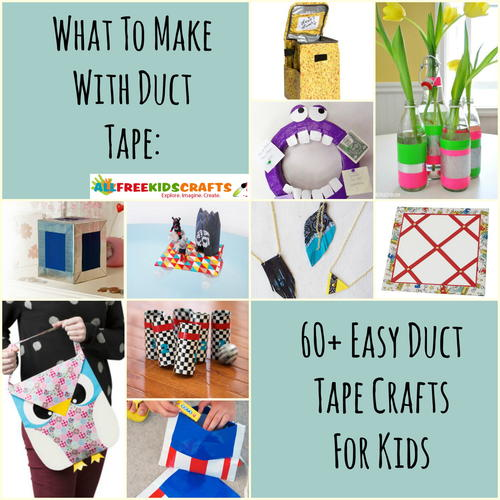 what to make with duct tape 62 easy duct tape crafts for