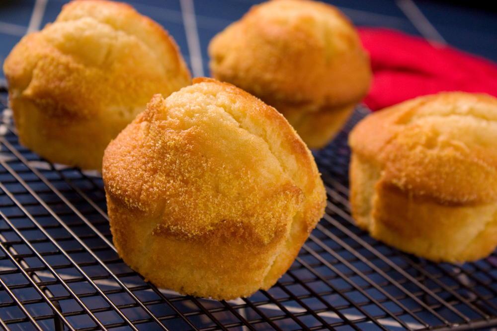 Old Time Cornbread Muffins Mrfood Com