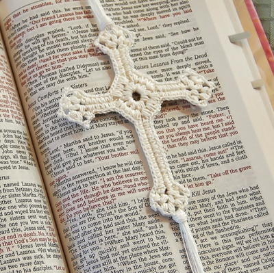 Simply Elegant Crochet Cross