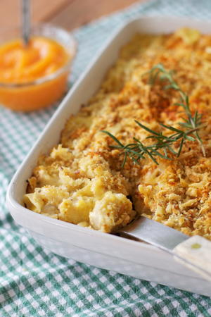 Creamy Pumpkin Mac and Cheese
