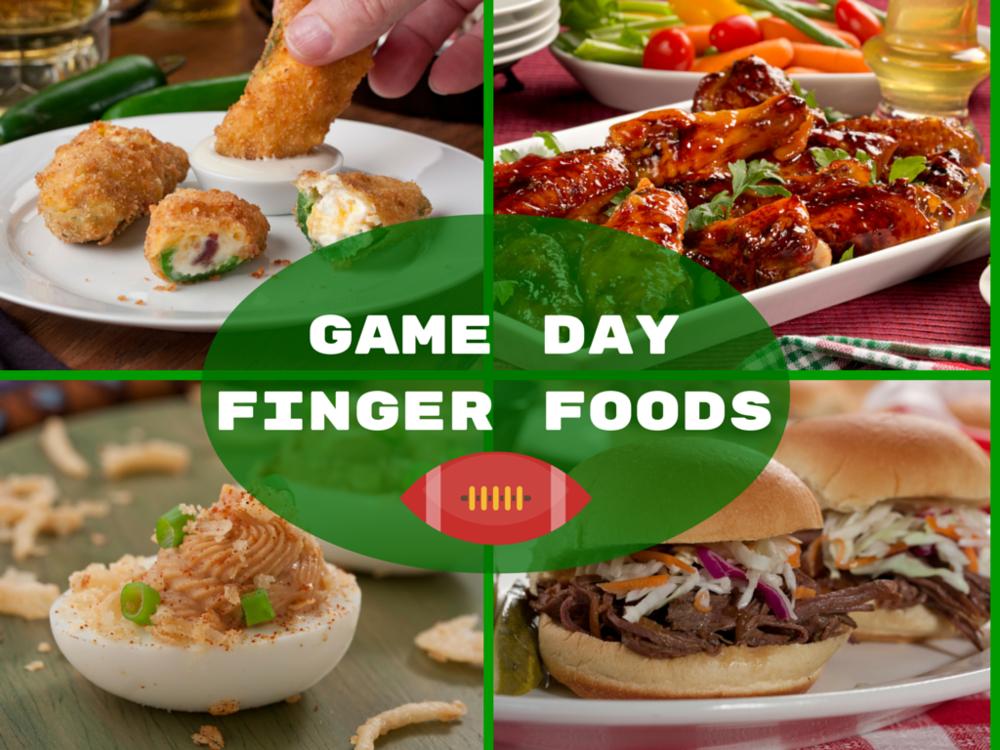 Finger Foods 14 Game Day Recipes Mrfoodcom