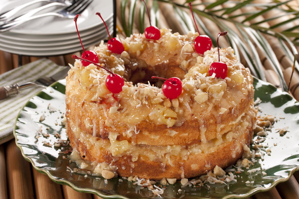 20 pineapple dessert recipes pineapple upside down cake and more tropical angel food cake forumfinder Image collections