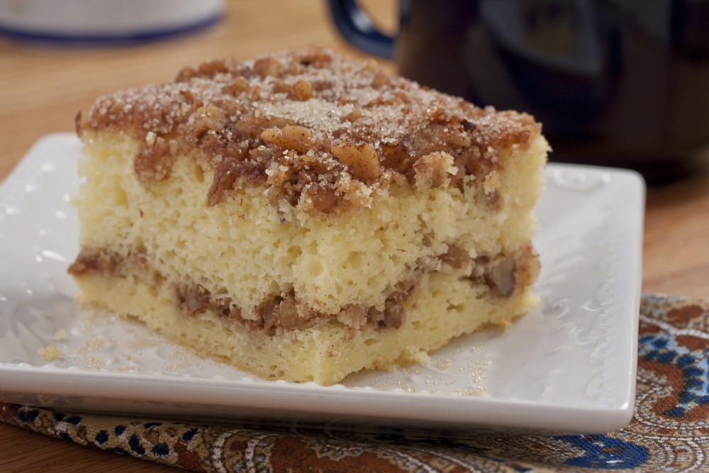 Easy Sour Cream Coffee Cake With Cake Mix
