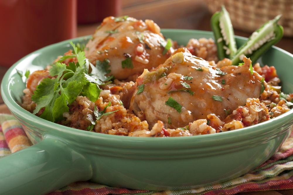 Hot N Spicy Chicken Dinner Mrfood
