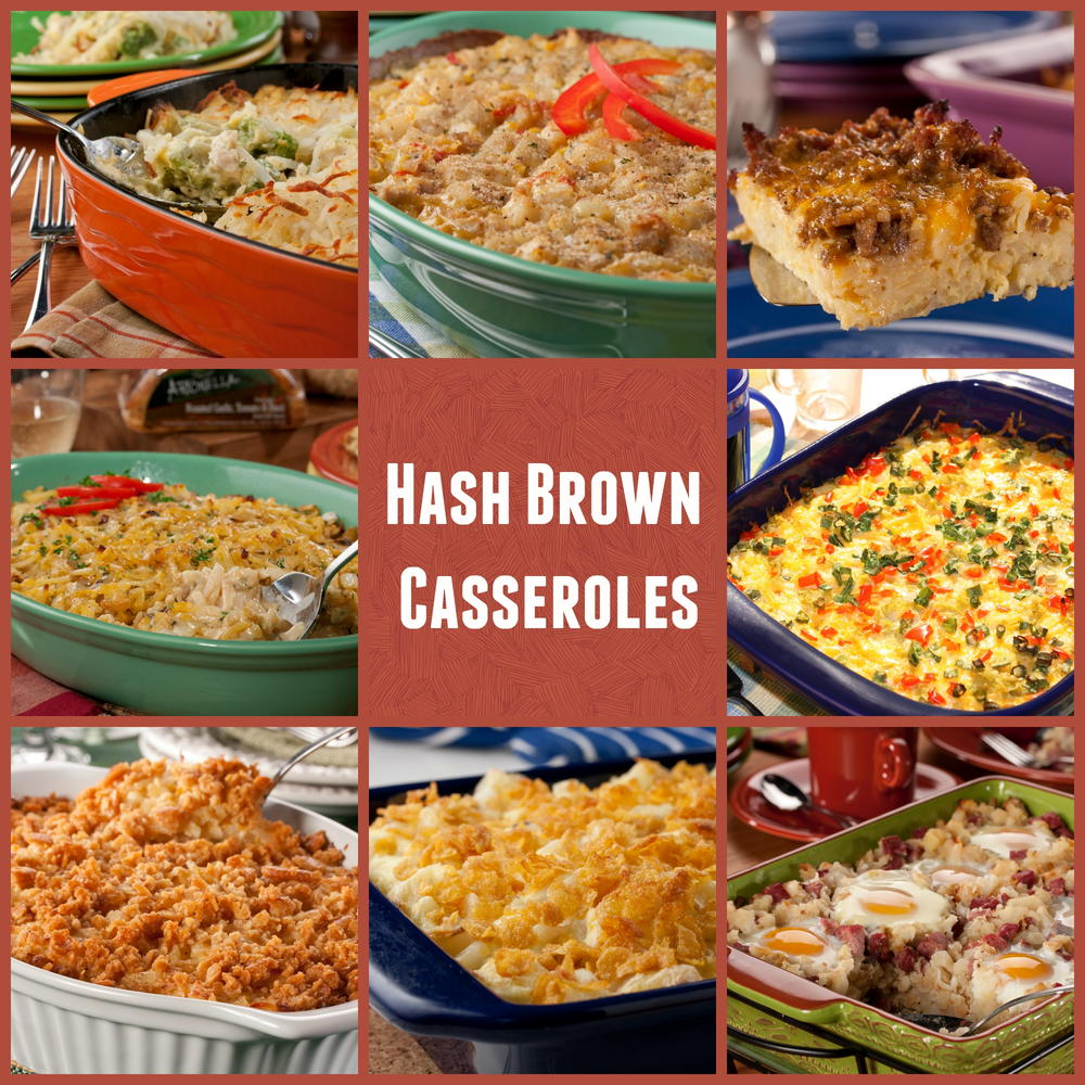 hash brown casseroles: 10 easy potato casserole recipes | mrfood