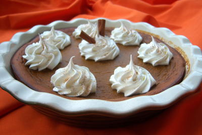 Impossible Pumpkin Pie