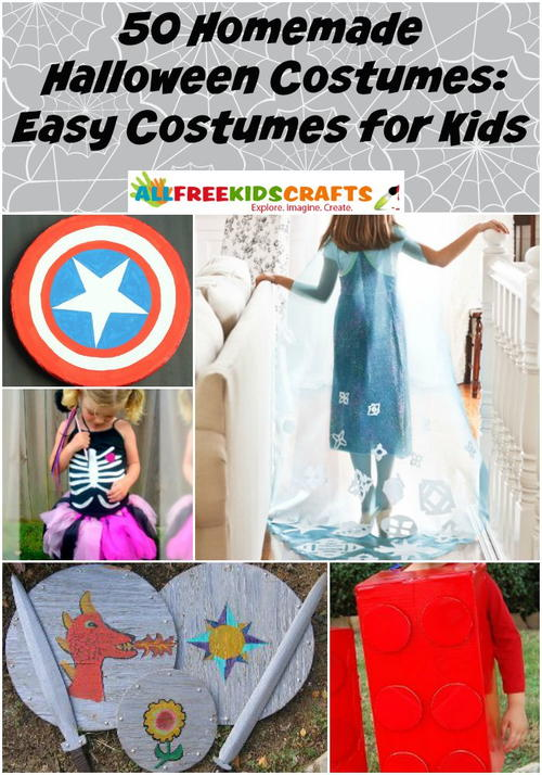 50 Homemade Halloween Costumes: Easy Costumes for Kids