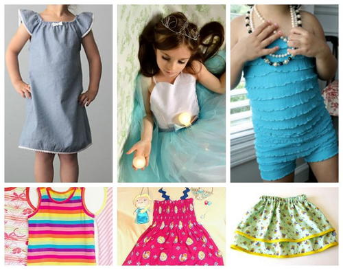 Free Clothing Sewing Patterns for Girls