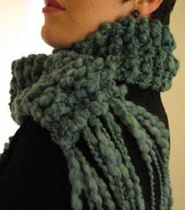Knitting A Scarf Garter Stitch : Three Hour Garter Stitch Scarf