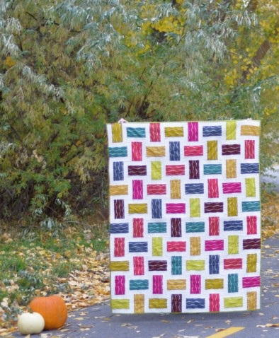 Crossed Paths Rail Fence Quilts
