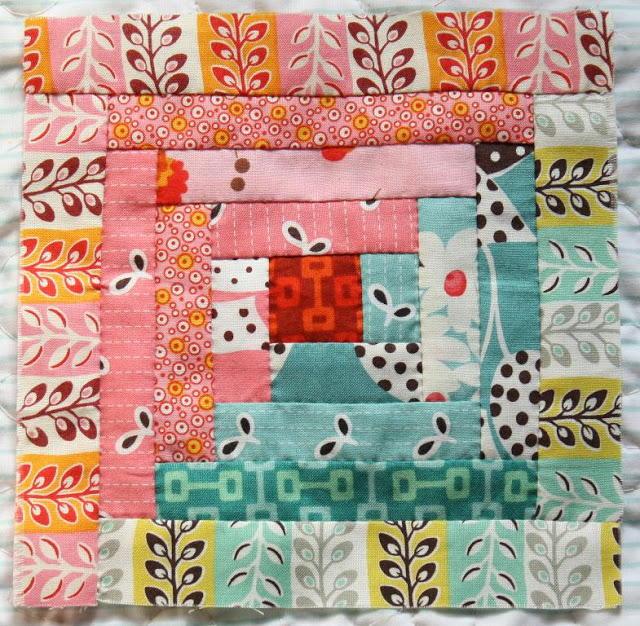 Log Cabin Block Pattern Favequilts Com