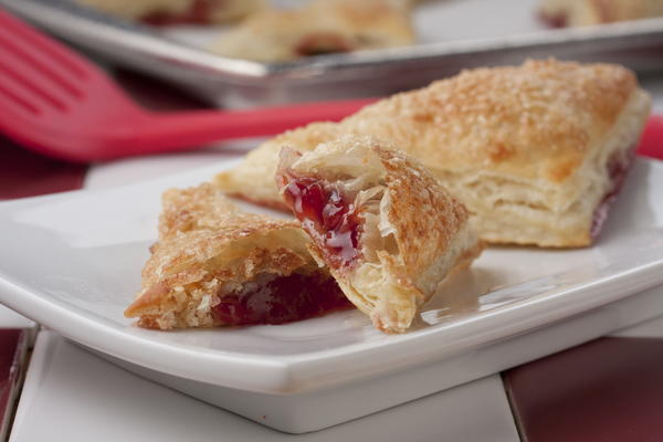 Double Cherry Turnovers | MrFood.com