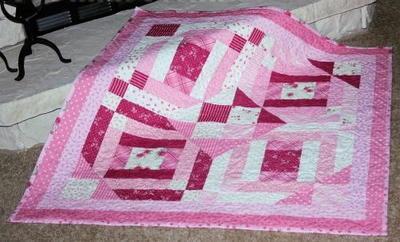 Pinkie Promise Baby Quilt
