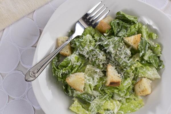 Easy Caesar Salad   MrFood.com