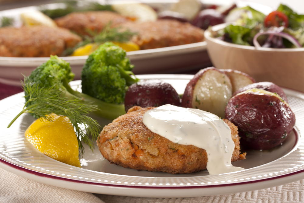recipe: salmon croquettes made with white sauce [36]