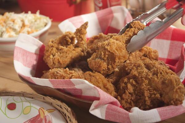 Extra Crispy Fried Chicken | MrFood.com
