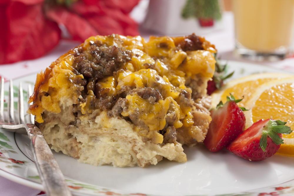 christmas morning strata mrfoodcom - Best Christmas Breakfast