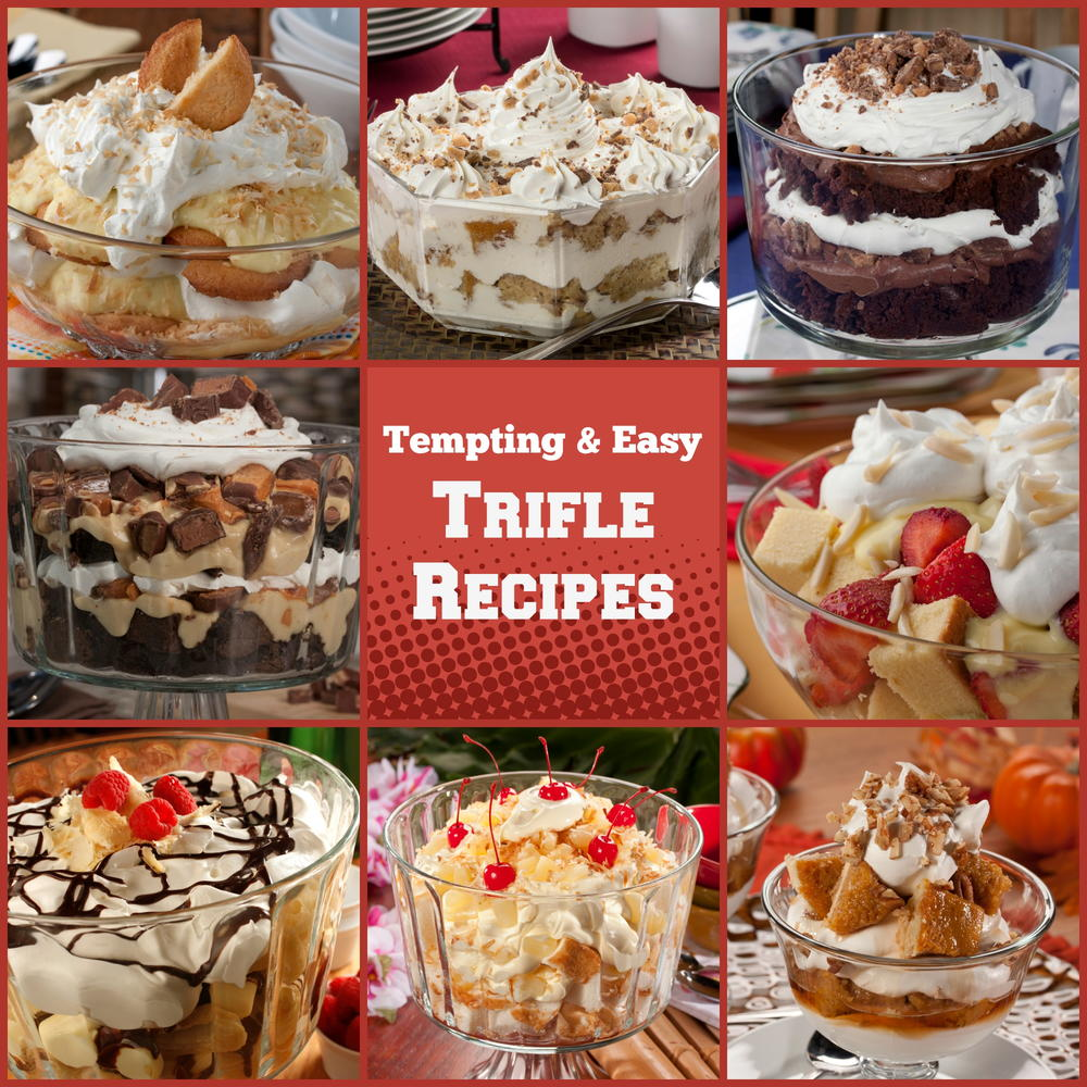 Tempting easy trifle recipes for Quick and easy trifle dessert recipes