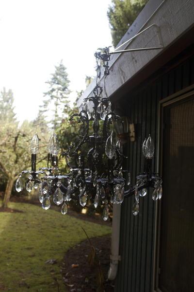 Glamorous Diy Outdoor Chandelier Favecrafts Com