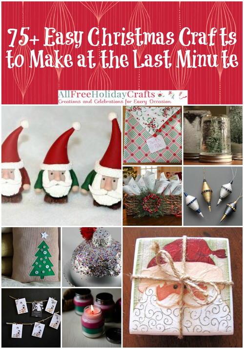 Last Minute Handmade Christmas Gifts. Last Minute Diy Christmas ...