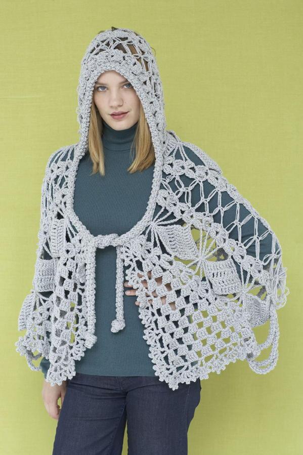 Maid Marion Lace Crochet Shawl AllFreeCrochet.com