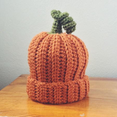 The Great Pumpkin Crochet Baby Hat