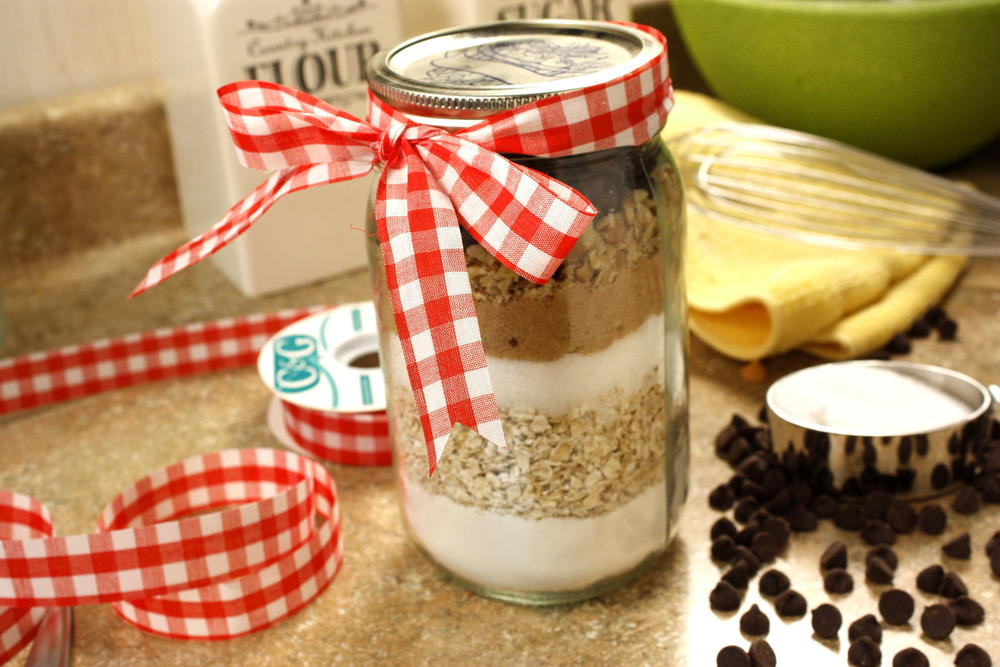 Oatmeal chippers in a jar mrfood forumfinder Gallery