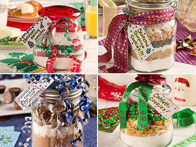 10 Homemade Christmas Gifts in a Jar | MrFood.com