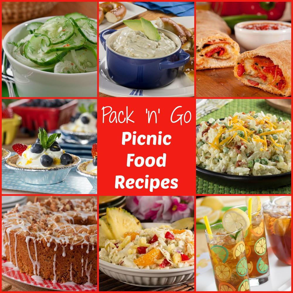 pack 'n' go picnic food ideas free ecookbook | mrfood