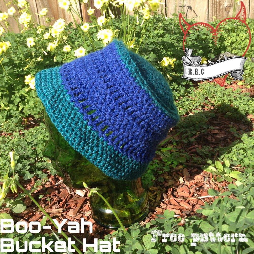 Crochet Bucket Hat AllFreeCrochet.com