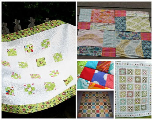 monthly quilting favorites free quilt patterns your home nine patch cabin more