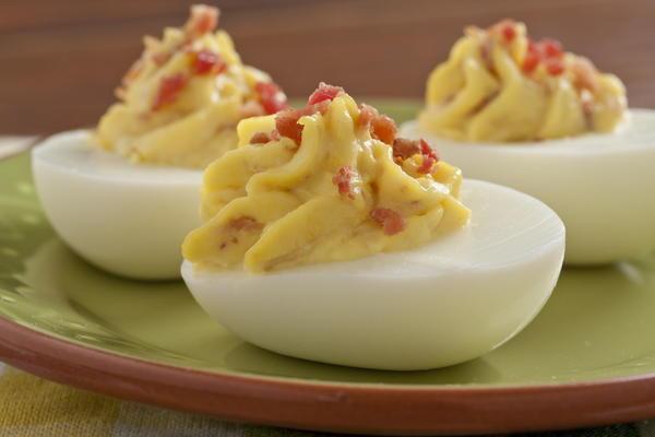 Bacon And Eggs Recipe Bacon Lover's Deviled Eggs