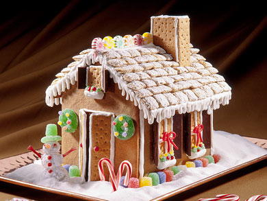 recipe: small gingerbread house recipe [16]
