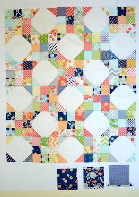 Snowball Nine Patch Pattern Favequilts Com