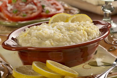 Lemon Parmesan Risotto