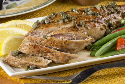 Lemon Pork Tenderloin