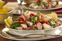 Red Potato Salad Recipe: Lemon Tuscan Potato Salad