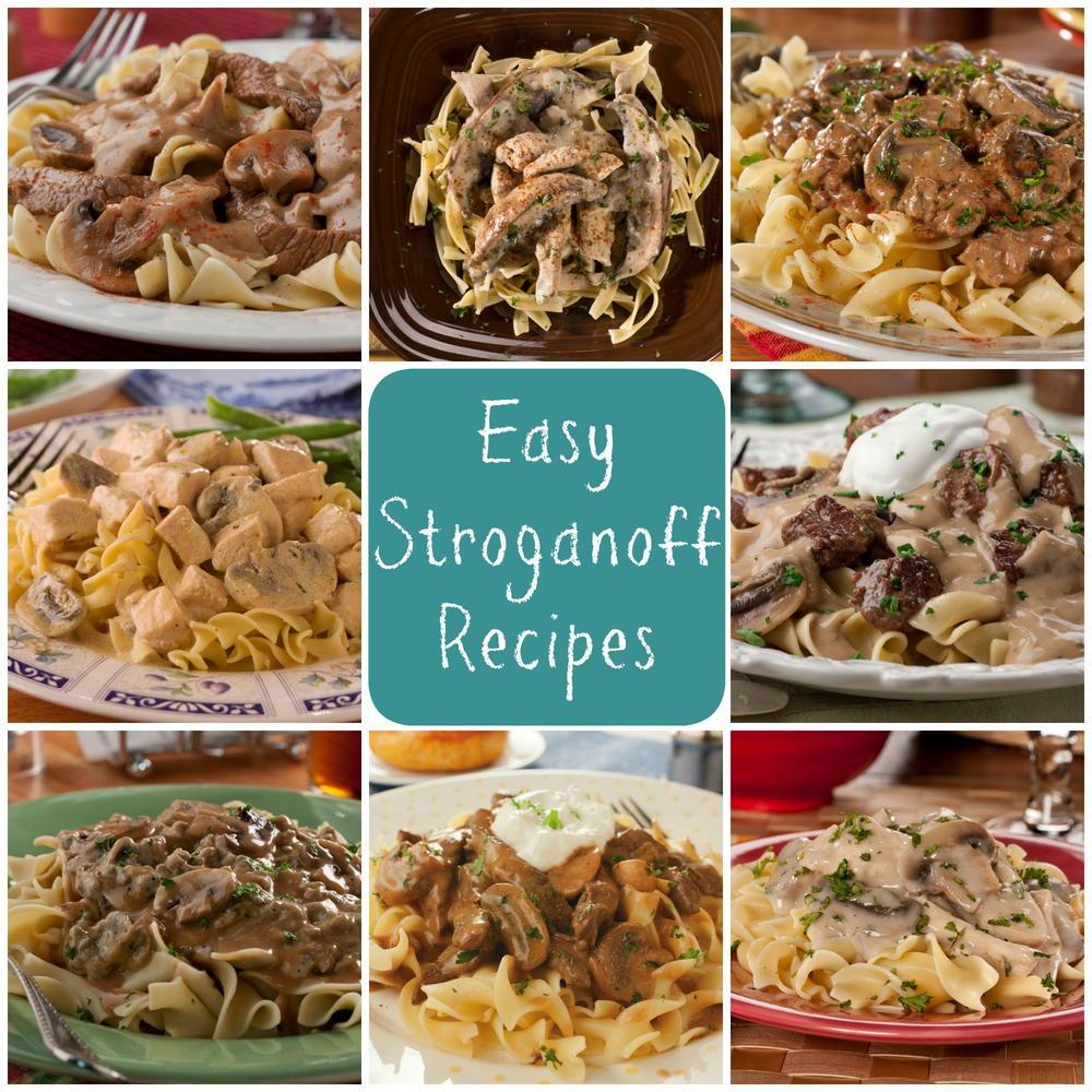 12 Recipes for Easy Beef Stroganoff, Chicken Stroganoff, & More ...