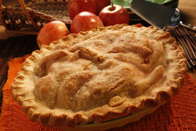 Piled-High Apple Pie